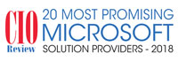 20 Most Promising Microsoft Solution Providers - 2018