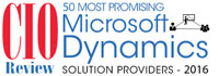 50 Most Promising MS Dynamics Solution Providers - 2016