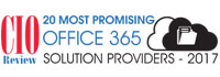 Top 20 Office 365 Solution Companies - 2017